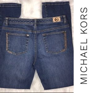 Michael Kors Jeans Straight Leg Med wash Jeans 10L